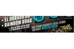 Buy Rainbow Road or El Dorado OG seeds + extra seeds! | Paradise-Seeds
